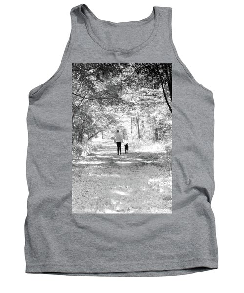 A Girl And Her Dog Tank Top
