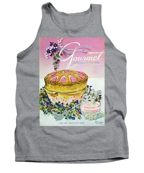 A Gourmet Cover Of A Souffle Tank Top