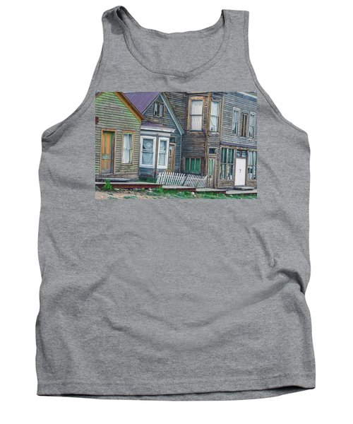 A Haimish Abode From A Bygone Era Tank Top by Bijan Pirnia