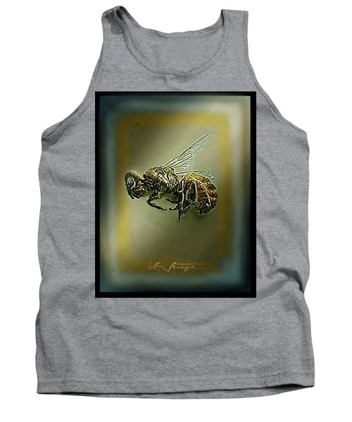 A Humble Bee Remembered Tank Top by Hartmut Jager