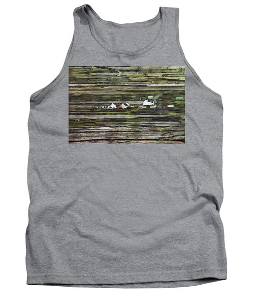 A Landscape With A Farm Tank Top
