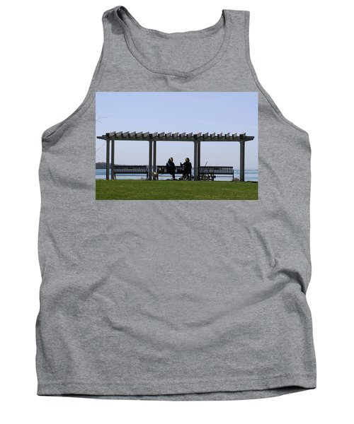 Tank Top featuring the photograph A Lazy Day by Paul SEQUENCE Ferguson             sequence dot net