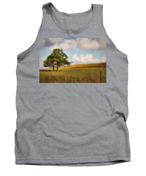 Tank Top featuring the photograph A Little Shade by Lana Trussell