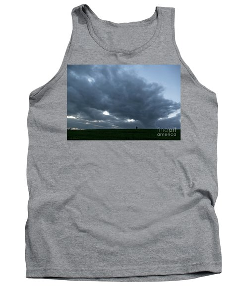 Alone In The Face Of The Storm Tank Top