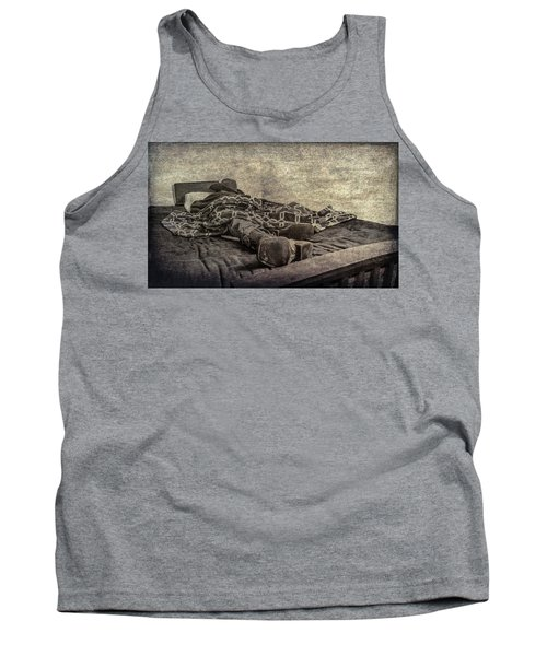 Tank Top featuring the photograph A Long Day On The Trail by Annette Hugen
