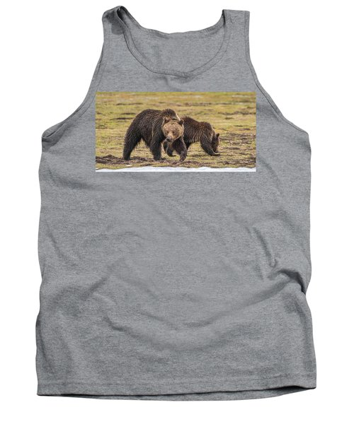 A Mini-mom And Yearling Tank Top