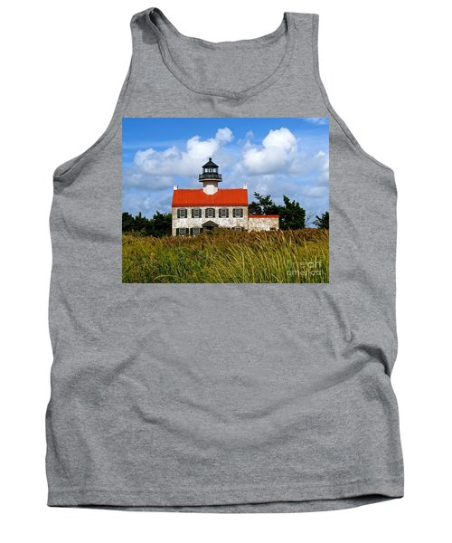 A New Day At East Point Light Tank Top by Nancy Patterson