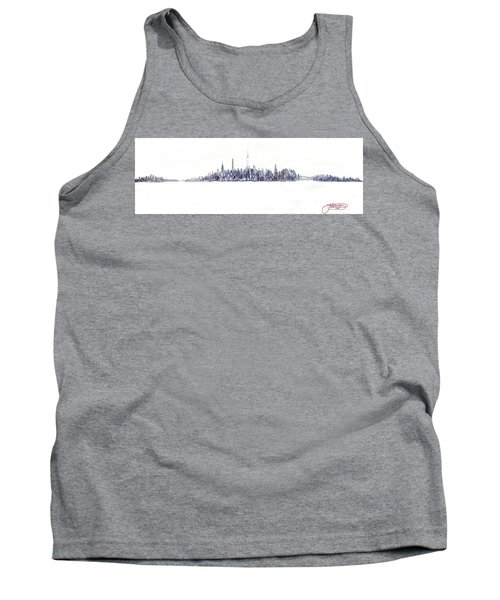 A New Year In Manhattan Tank Top
