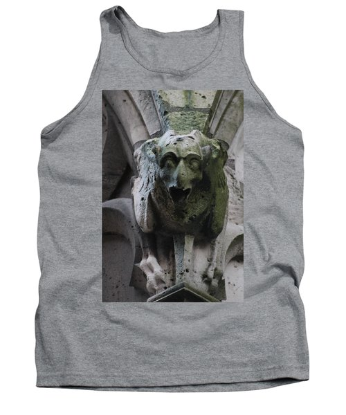 Tank Top featuring the photograph A Notre Dame Griffon by Christopher Kirby