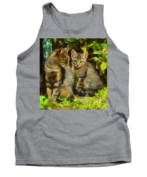 A Pair Of Feral Cats Tank Top