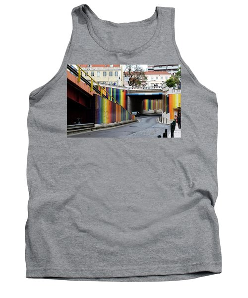 A Throughway Of Many Colors Tank Top