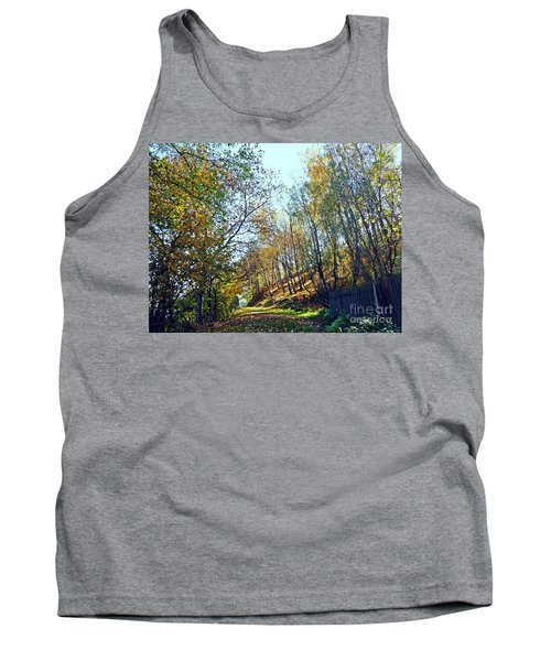 A Path In The Autumn Tank Top