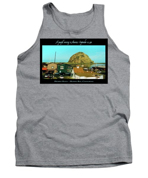 A Peaceful Morning In America 9-10-01 Tank Top