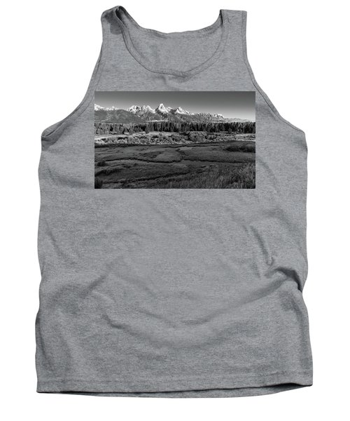 A Perfect Frosty Morning In Grey Scale Tank Top