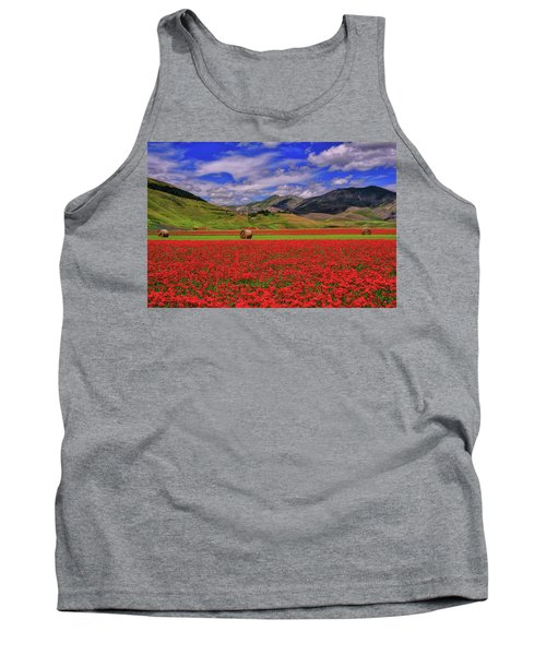 A Poppyy Dream Tank Top