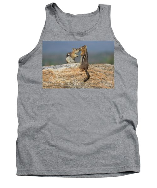 A Quick Kiss Tank Top by John Roberts