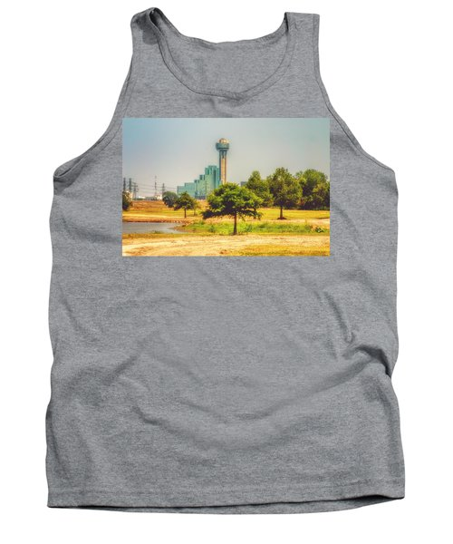 Tank Top featuring the photograph A Quiet View by Joan Bertucci