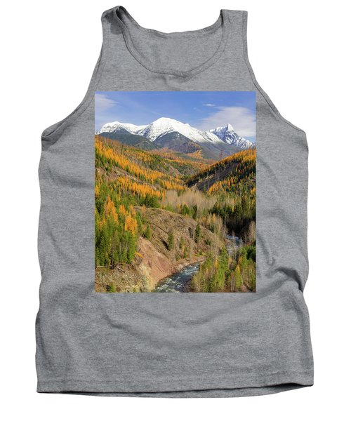 A River Runs Through It Tank Top by Jack Bell