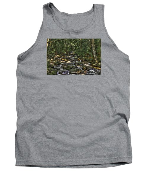 A River Through The Woods Tank Top