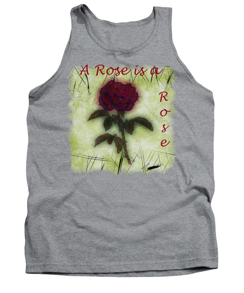 A Rose Tank Top by John M Bailey