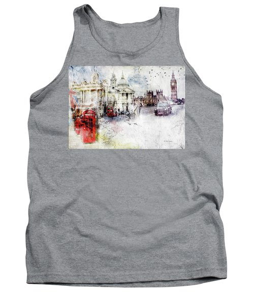 A Sense Of Time Tank Top by Nicky Jameson