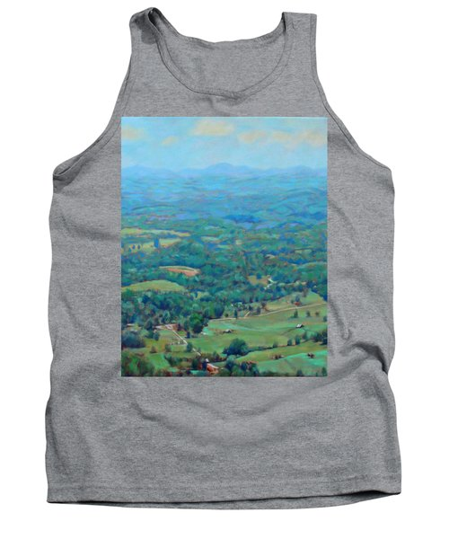 A Slow Summer's Day- View From Roanoke Mountain Tank Top