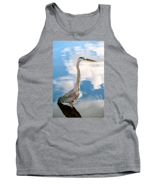 Tank Top featuring the photograph A Stroll Among The Clouds by Christopher Holmes
