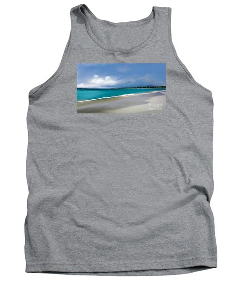 Tank Top featuring the digital art A Summer Day by Anthony Fishburne