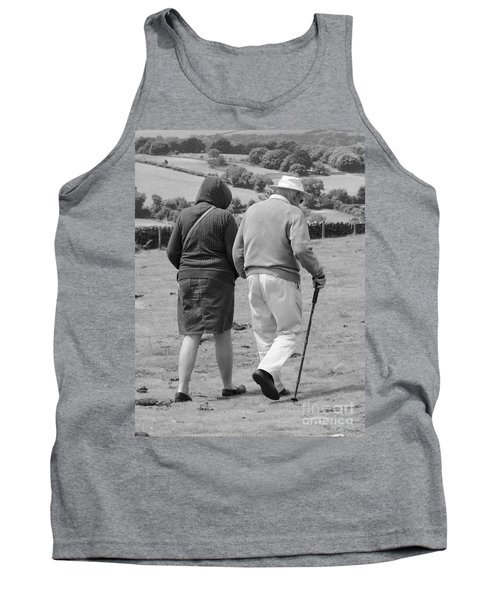 A Sunday Stroll In The Country Tank Top by Linsey Williams