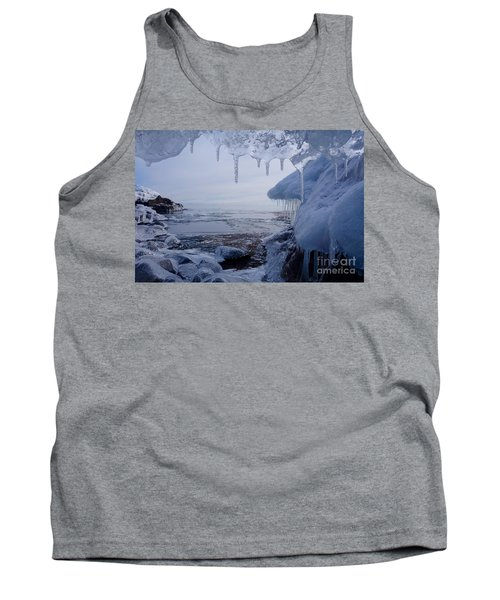 A Superior Ice Cave Tank Top by Sandra Updyke
