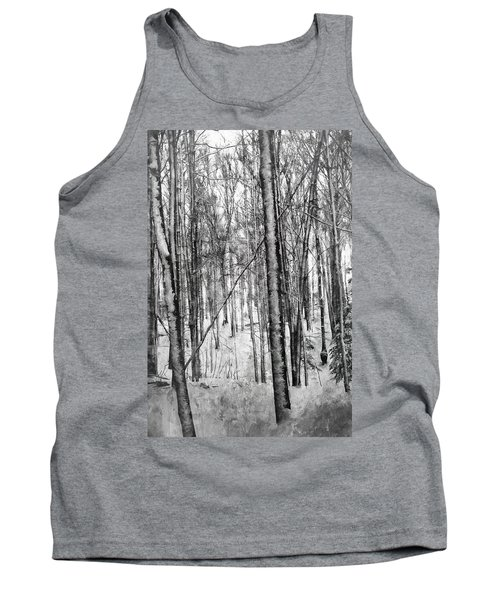 A Tree's View In Winter Tank Top