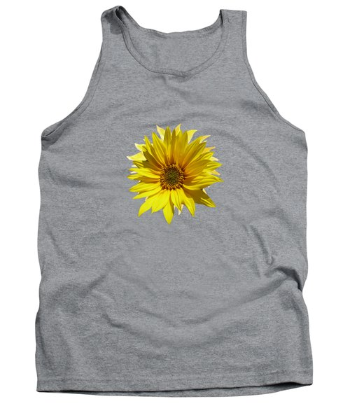 A Vase Of Sunflowers Tank Top