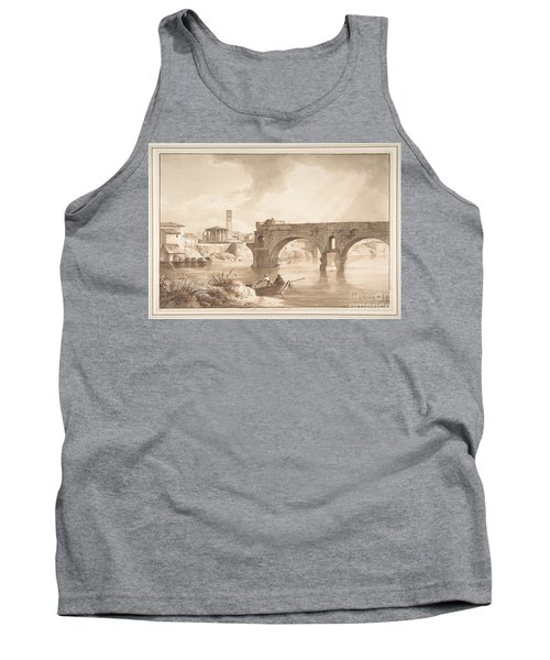 A View Of The Tiber From The North Bank Tank Top