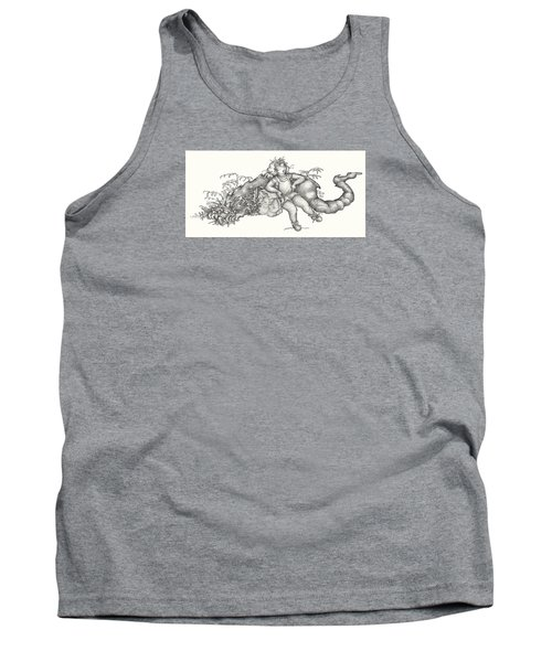 Real Fake News Foto A Warm Log Tank Top by Dawn Sperry