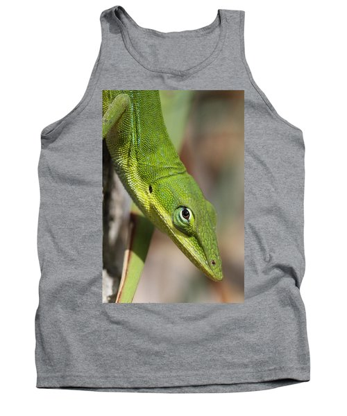 Tank Top featuring the photograph A Watchful Eye by Doris Potter