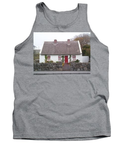 A Wee Small Cottage Tank Top by Charles Kraus