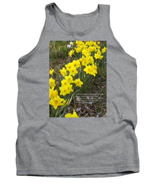 A Wizard Must Have Passed This Way Tank Top