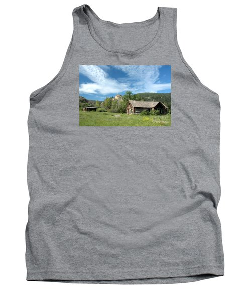 Abandoned Cabin Tank Top