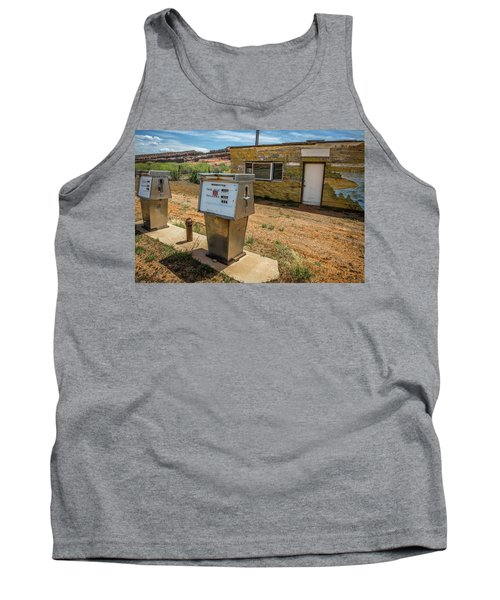 Abandoned Gas Station Tank Top