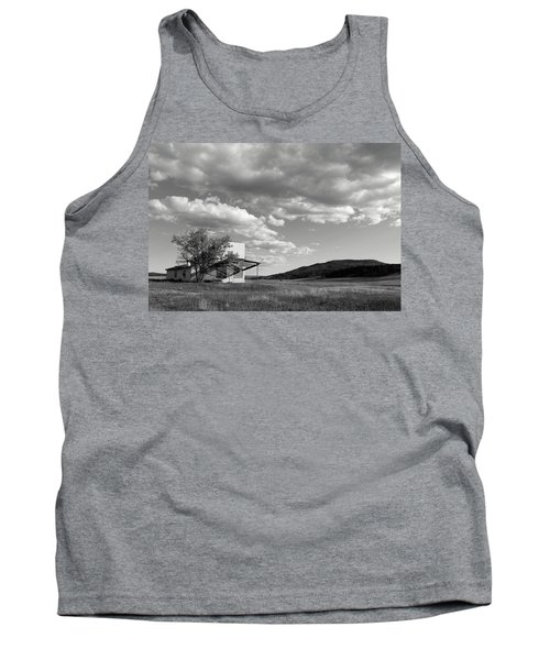 Abandoned In Wyoming Tank Top