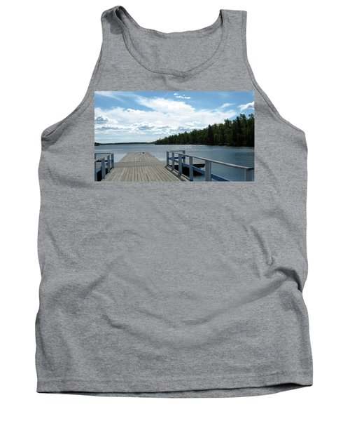 Abandoned Jetty Tank Top