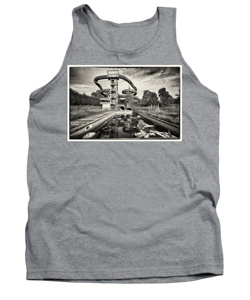 Lets Have A Splash - Abandoned Water Park Tank Top by Dirk Ercken