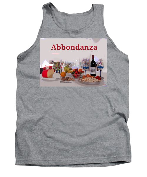 Abbondanza Tank Top by Charles Shoup