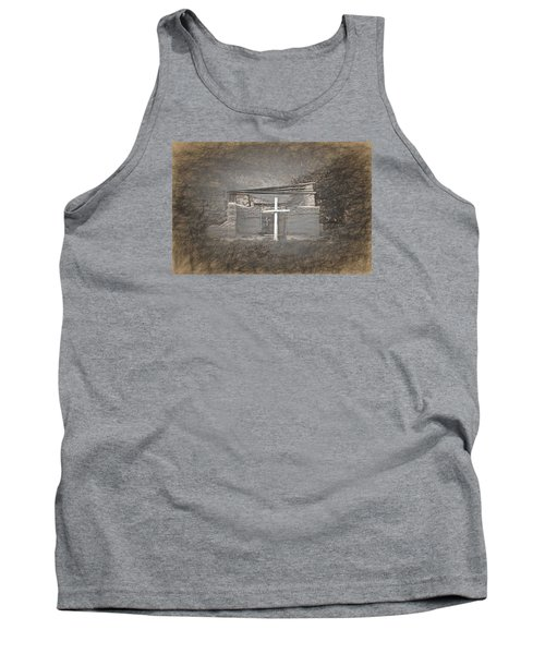 Abiquiu Nm Church Ruin Tank Top
