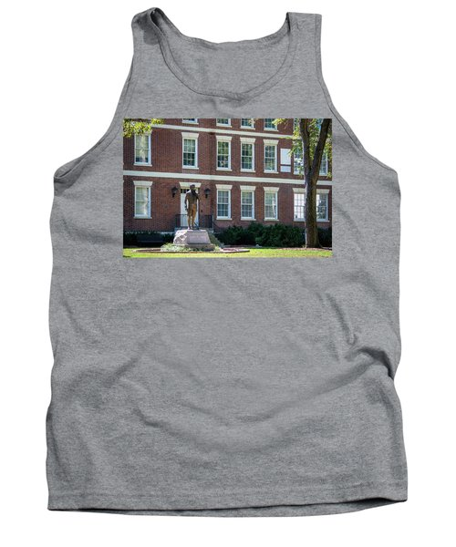 Tank Top featuring the photograph Abraham Baldwin Statue At Uga by Parker Cunningham