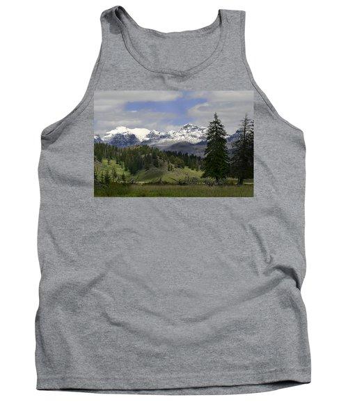 Absaroka Mts Wyoming Tank Top