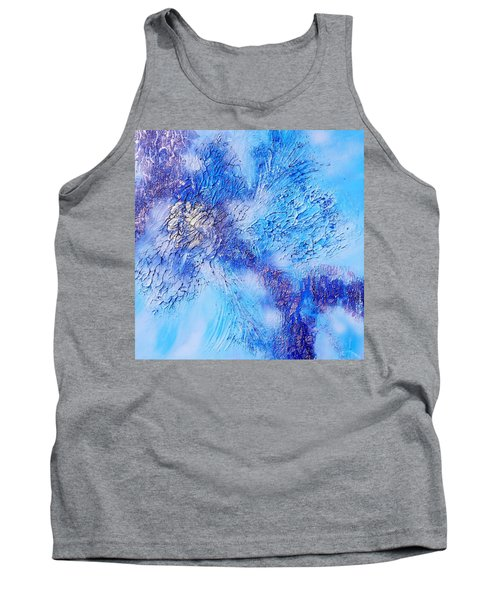 Abstract Art - The Colors Of Winter Tank Top
