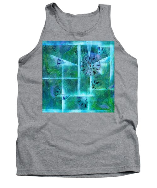 Abstract Art - Time Fragments Tank Top