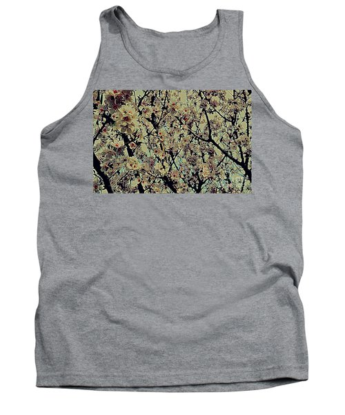 Abstract Blossoms Tank Top