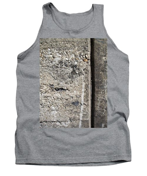 Abstract Concrete 16 Tank Top